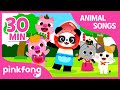 The Kitty Song and more | +Compilation | Animal Songs | Pinkfong Songs for Children