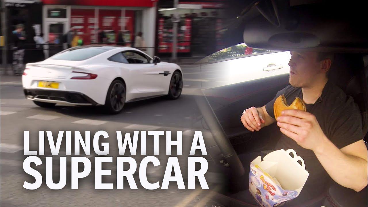 Living With An Aston Martin Vanquish Supercar