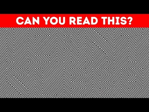 20 ILLUSION RIDDLES TO SPIN YOUR BRAIN AROUND 😈