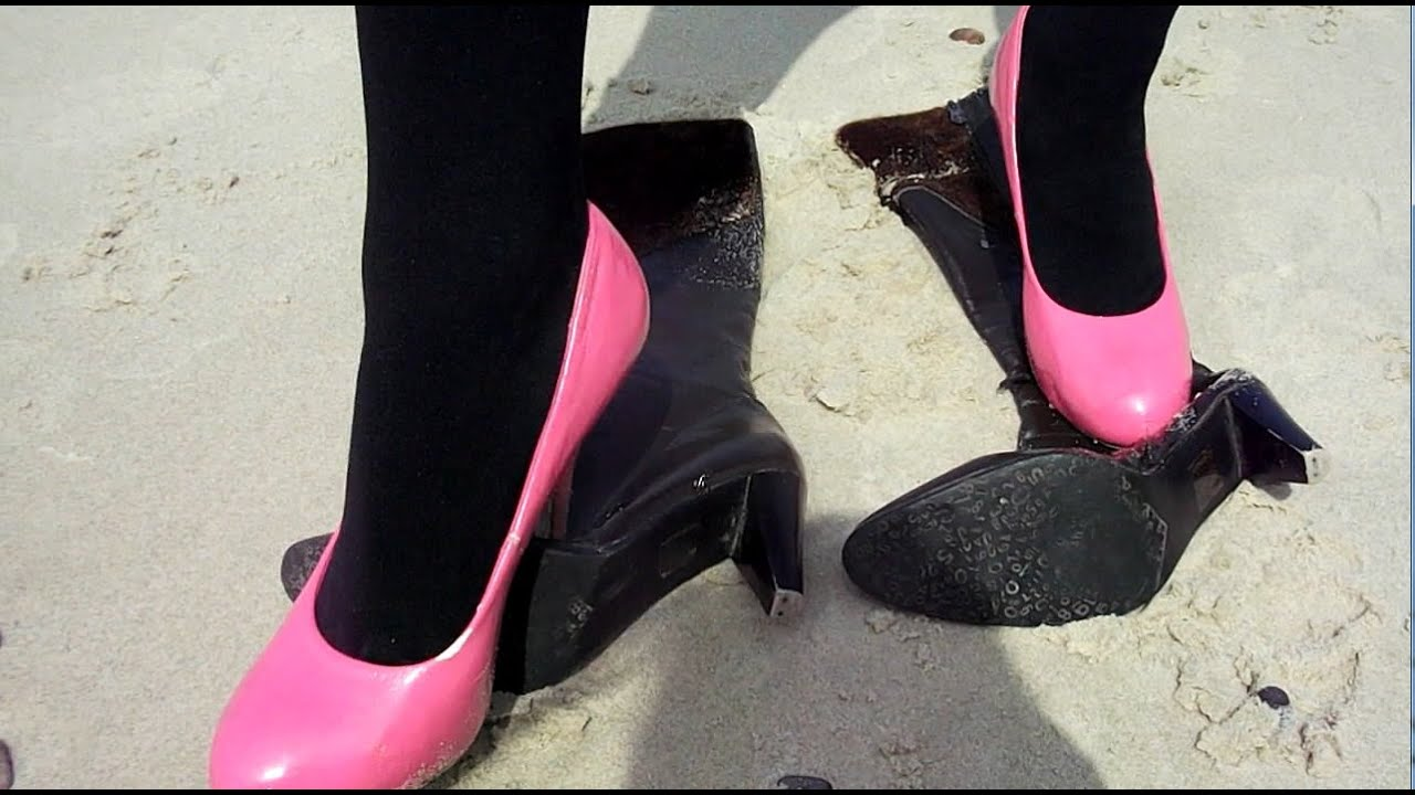 crushing heels