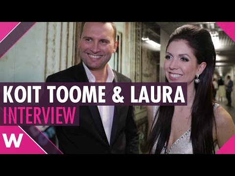 "Koit Toome & Laura ""Verona"" (Winners, Eesti Laul 2017) | INTERVIEW"