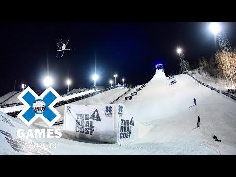 Henrik Harlaut wins Men's Ski Big Air gold | X Games Aspen 2018