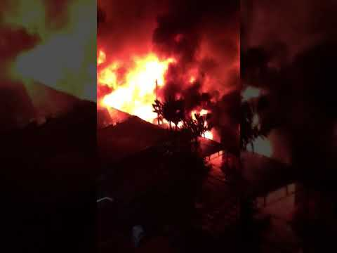 Malaysian Chinese Medical Association neighbouring fire