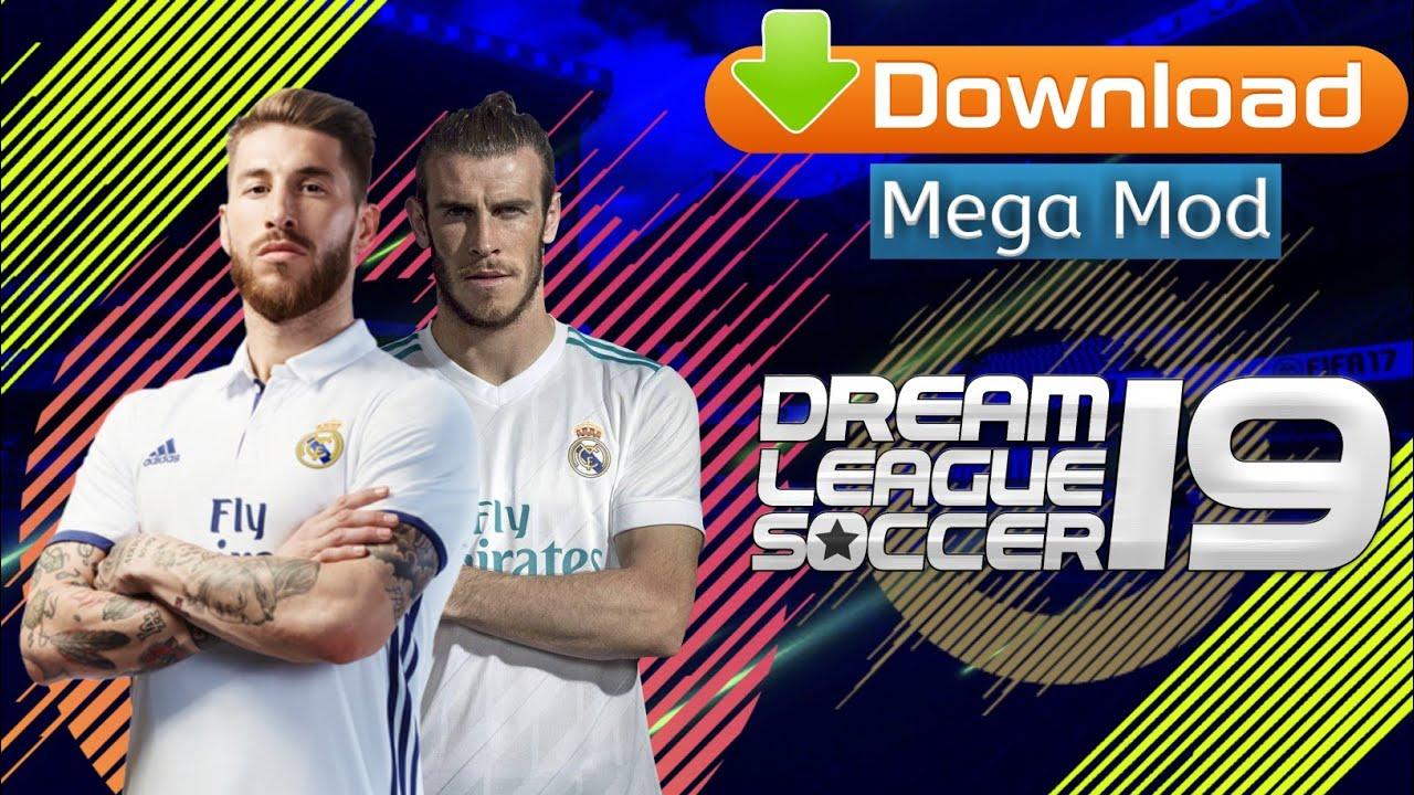 Download dream league soccer 2019 mega mod