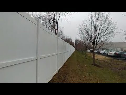 From Green To Clean 1900 linear feet Vinyl Fence Cleaning In St. Louis Missouri