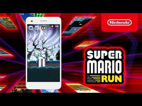 Introduction image to new features in Super Mario Run
