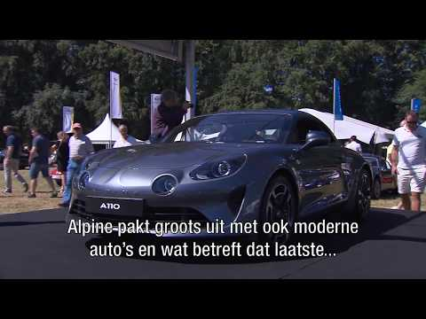 Klassiekers bij het Concours d'Élégance Paleis Het Loo - RTL Autowereld Zomeraflevering 6