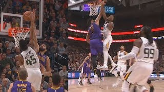 JaVale McGee Gets Sent To The Grave By 6′ 3″ Donovan Mitchell
