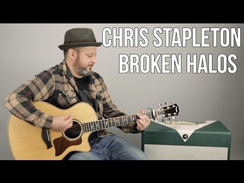 Chris Stapleton Broken Halos Guitar Lesson  Super Easy Acoustic Songs