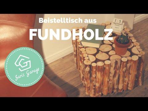 Wir Zeigen Dir, Wie Einfach Du Aus Altholz Einen Schmucken DIY  Beistelltisch Selber Bauen Kannst