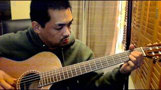 The Beatles - Something (fingerstyle)