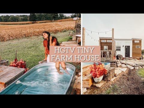 HGTV TINY HOUSE TOUR | the cutest little farm house!
