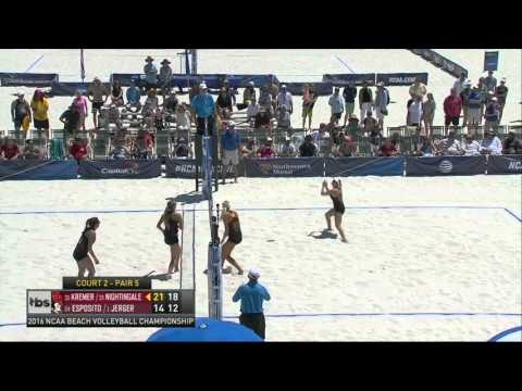 Beach Volleyball: USC 3, FSU 0 - Highlights (NCAA Championship)