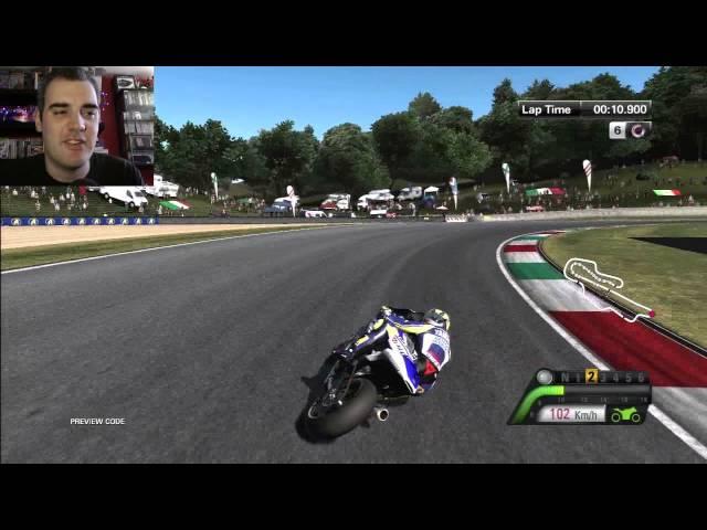 MotoGP 13 Standard Handling Practice PS3 Gameplay