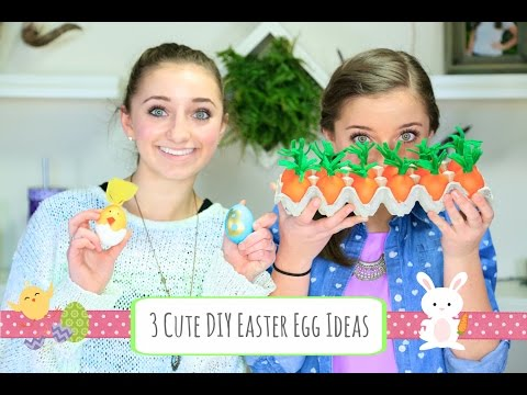 3 Cute DIY Easter Egg Ideas   Brooklyn and Bailey