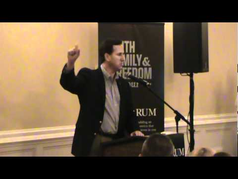 Part 1 Rick Santorum 01/11/12 .mpg