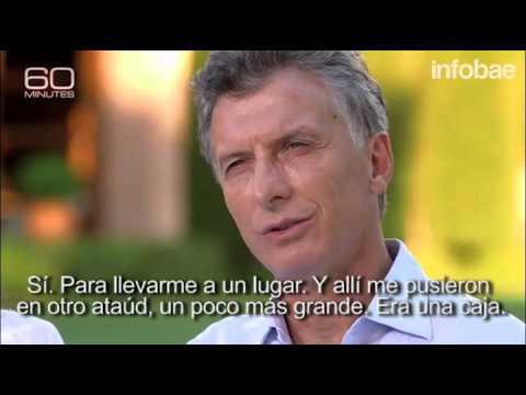 Mauricio Macri en el mítico 60 minutes de la cadena CBS (1)