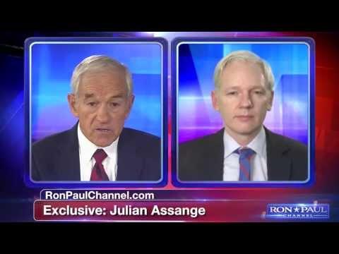 Julian Assange talks to Ron Paul part 1