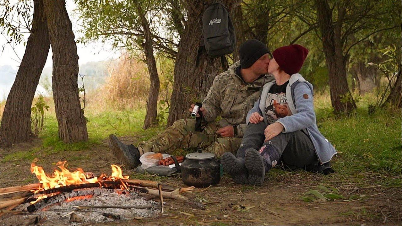 НА РЫБАЛКУ С ЖЕНОЙ. Осенняя нижняя Волга. Воды нет, но вы держитесь. Отличный день на рыбалке.