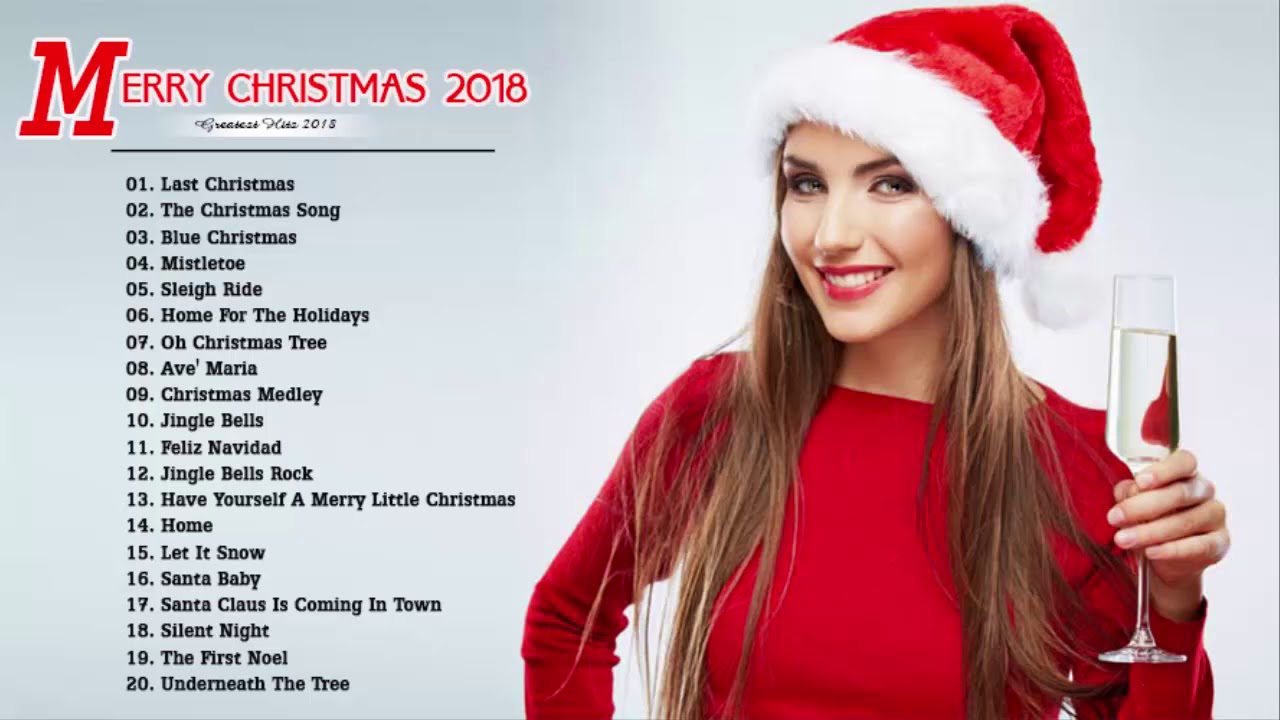 Top 100 Merry Christmas Songs 2018 - Merry Christmas And Happy New ...