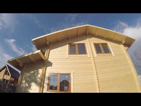"""Обзор дома 6.0х7.5 """" Звезда"""" из двойного бруса в 2 этажа. Солнечногорск [#М57]"""