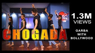 Chogada tara | Loveratri | Garba With Bollywood | Vicky Patel Dance Choreography