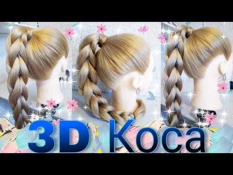 Косичка 3d видеоуроки