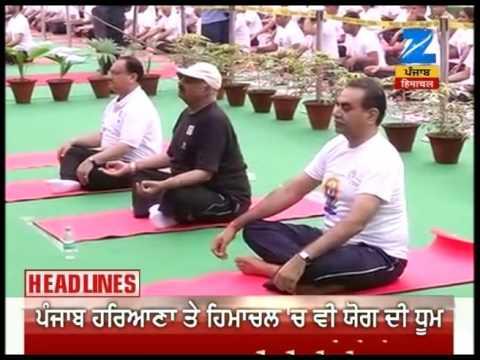 HEADLINE 8   Baba Ramdev guides through massive yoga event in Ahmedabad