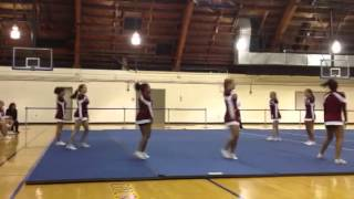 SJU Cheer - Stunt Game #8