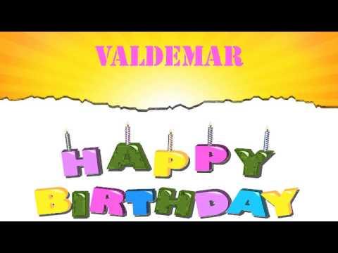 Valdemar   Wishes & Mensajes - Happy Birthday