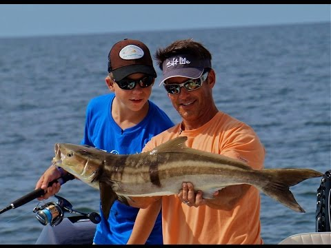 Luke from Make-A-Wish catches redfish, snook, grouper and more - Part 2
