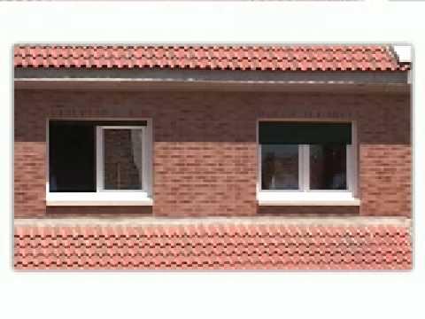 Instalacion ventana youtube for Casas con puertas de madera