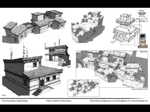 Intro to Perspective for Entertainment Design Class with Polina Hristova