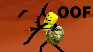 STICK WAR 2 INTRO BUT EVERY DEATH IS REPLACED WITH THE ROBLOX DEATH SOUND EFFECT