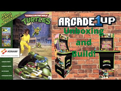 Arcade1up: Building the TMNT cabinet - updated repost! from PsykoGamer