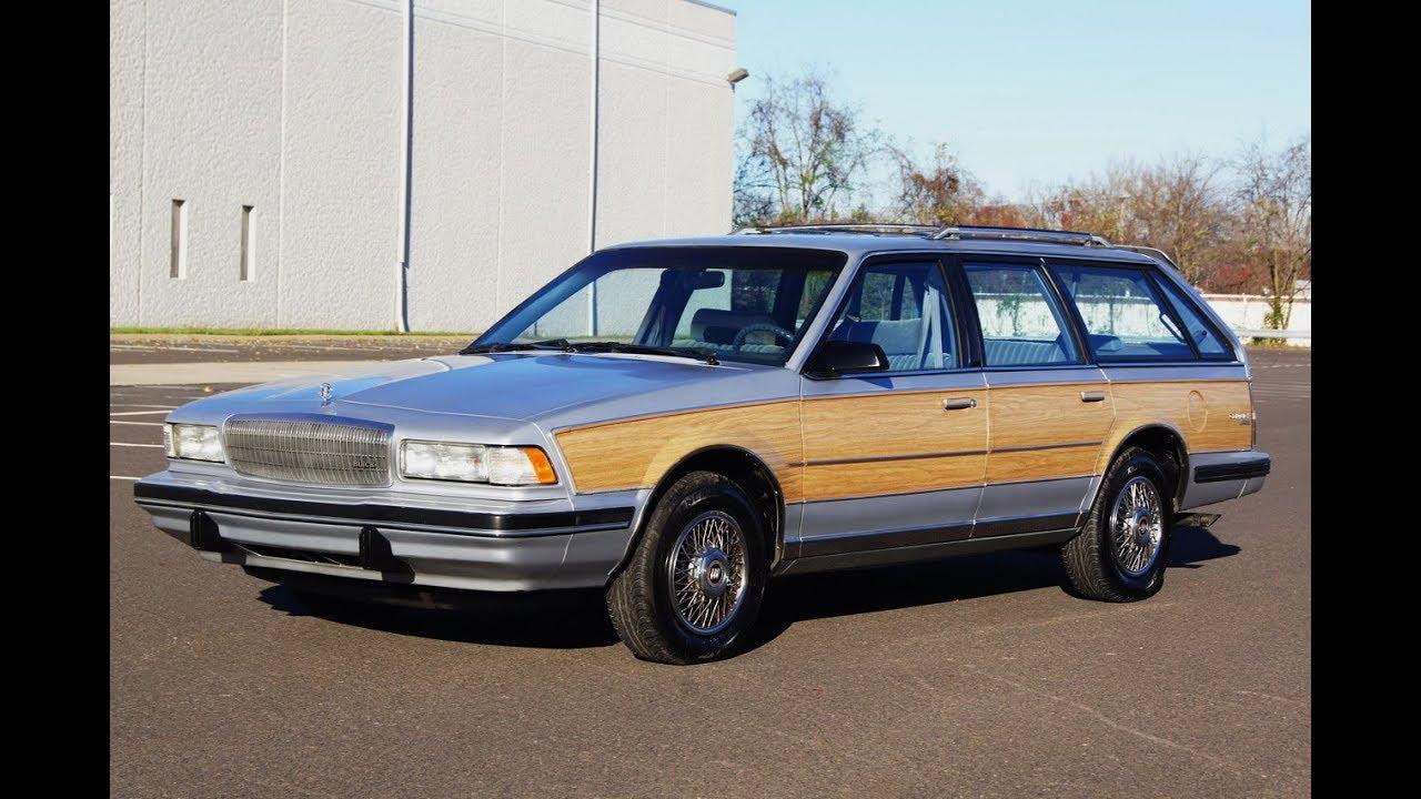 1991 Buick Century Woody Estate Station Wagon