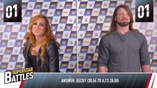 WWE Superstar Battles w/ Becky Lynch & AJ Styles - Smyths Toys