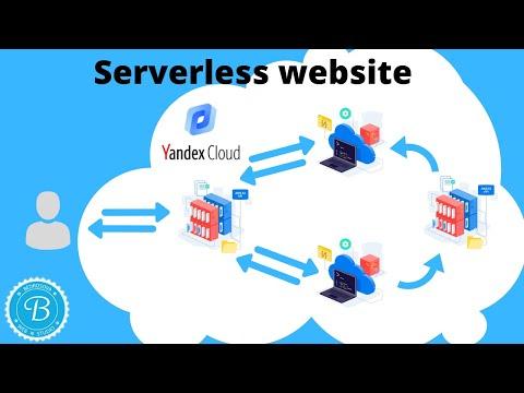 Яндекс.Облако: как развернуть Serverless веб-сайт, 30 рублей в месяц - достаточно!