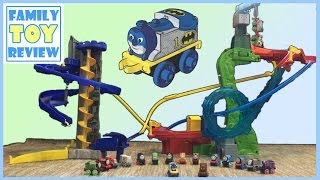 The Lego Batman Movie Toys - Thomas and Friends Minis Batcave Motorized Raceway Play Set Superheroes