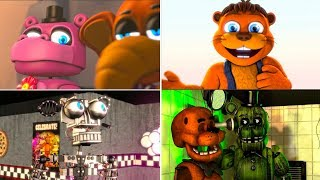 Every FNaF Animatronics in a nutshell animated