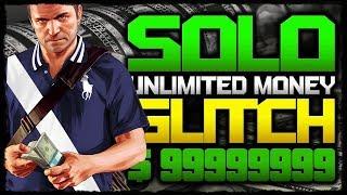 GTA 5 ONLINE 1.46 *SOLO* UNLIMITED MONEY GLITCH