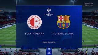 #fifa #pes #futbol ea sports™ fifa 20 https://store.playstation.com/#!/es-es/tid=cusa15545_00 slavia prague - fc barcelona   uefa champions league 2019 gamep...