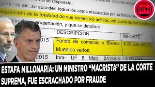 "ESTAFA MILLONARIA: Un ministro ""macrista"" de la Corte Suprem..."