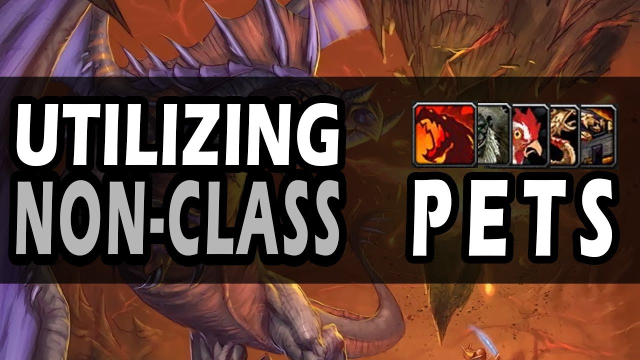Making the most out of non-class pets (World of Warcraft)