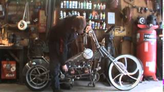 twin engine bike cold start,