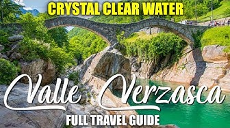 The MOST INTERESTING VALLEY in Switzerland – Valle VERZASCA / Lavertezzo – FULL TRAVEL GUIDE