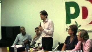 Confronto PGT: Intervento dell' Assessore Pierfrancesco Maran