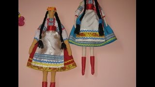 Идеи рукоделия. Кукла Тильда-украиночка. Урок №4.