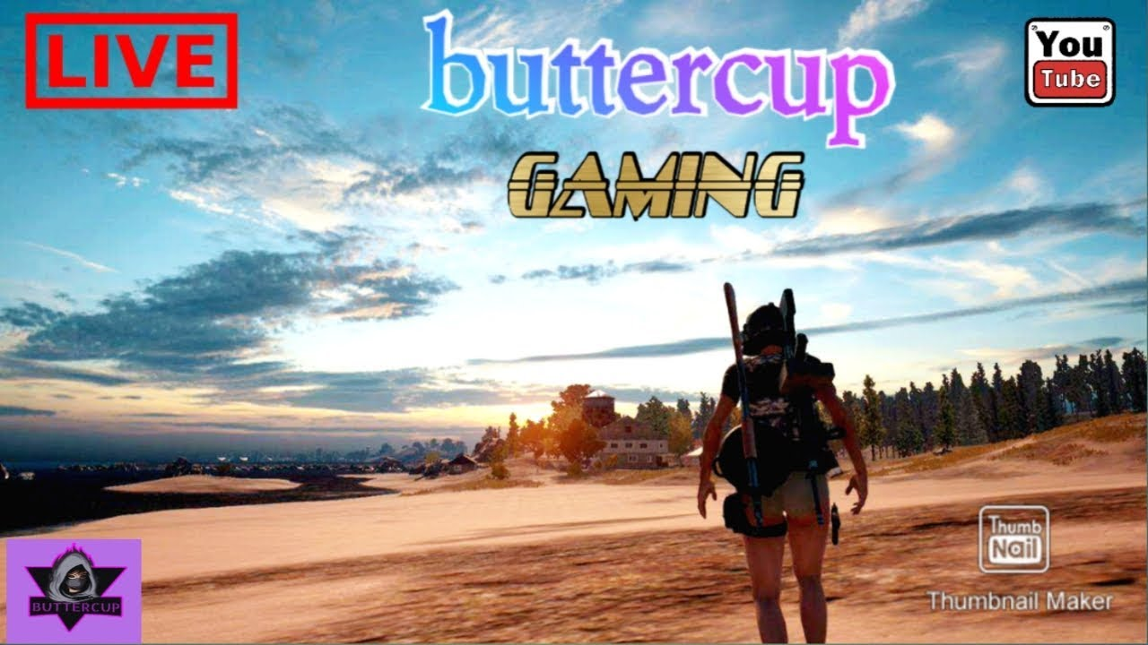 PUBG MOBILE || SQUAD ON || PUBG GIRL|| BUTTERCUP GAMING || JOI AAI AXOM ||