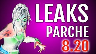 LEAKS PARCHE 8.2: SKINS AND NEW FORTNITE COSMETICS
